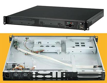 Morex Mini-ITX 1U Gehäuse 7677 (200W)