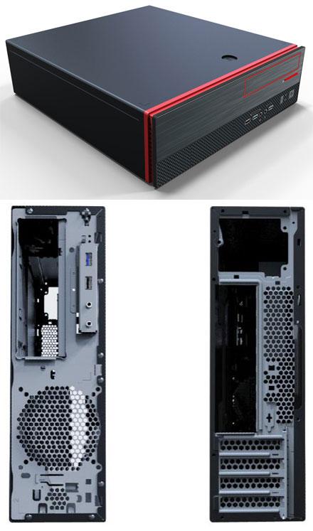Morex Mini-ITX / Micro-ATX case SFF506 (300W)
