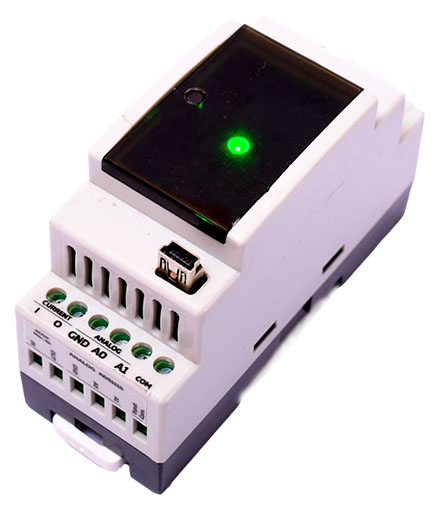 NORVI-AT01-BM1-ES-<b>S</b> (3x Digital I/O, 3x Analog inputs 0-10V 1x RS-485, <b>WiFi</b>)
