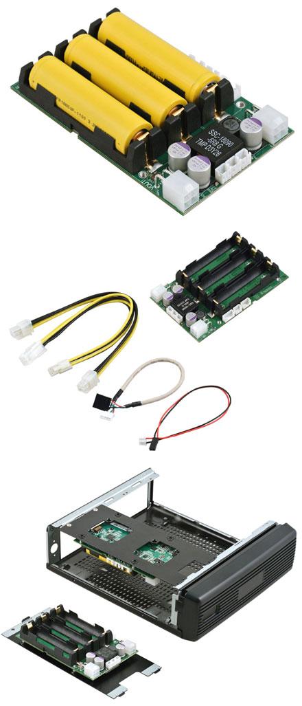 """OpenUPS2 (11-24V Input, 12-24V Output 5A, programmierbare Backup-Schaltung, 2.5"""" Format)"""
