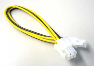 P4 connector cable (4pol-4pol)