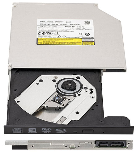 SLIM-LINE DVD+-R/RW Blu-ray XL Panasonic SATA (UJ-272) [9.5mm]