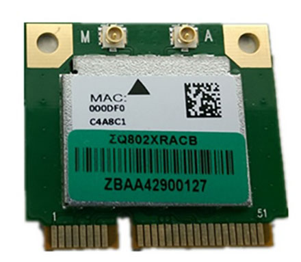 Wireless LAN / Bluetooth Mini-PCI Express [Qcom Combo ZQ802XRACB]