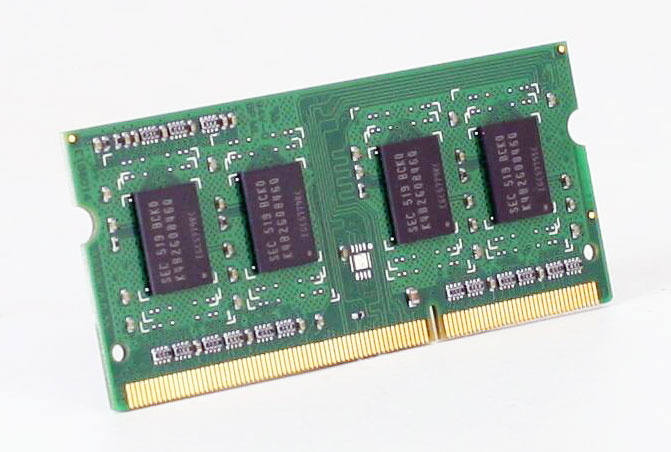 DIMM SO-DDR-3 4GB [Low Voltage, 1.35V]