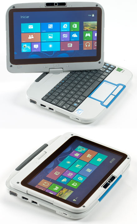"RuggedPad PRO 2014 (Intel Classmate PC Convertible, 10.1"" 1366x768 Multi-Touch, Intel Celeron 847, WLAN, Win8 ready)"