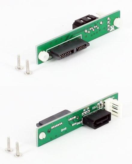 SlimSATA CD/DVD to SATA adapter