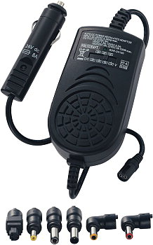 Car power adapter for notebooks -- max.8A (<b>for trucks 24V</b>)