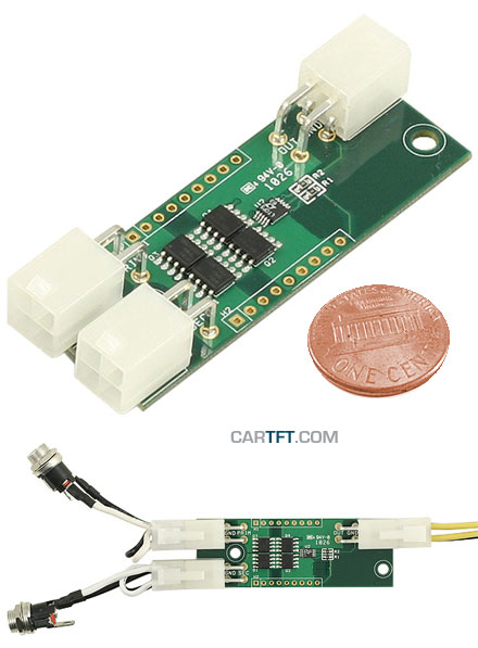 Y-PWR (Hot-Swap / Load Sharing Controller 5-30V, max. 2x 10A)