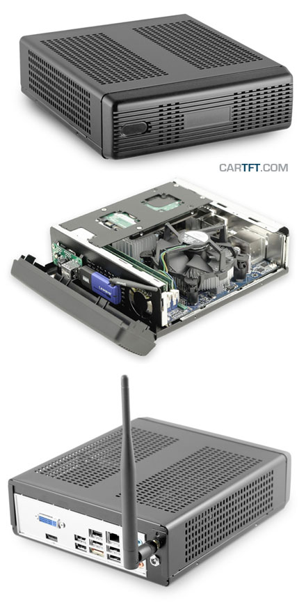 M350 Mini-ITX enclosure